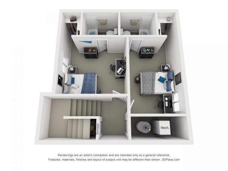 Lower Floor Layout
