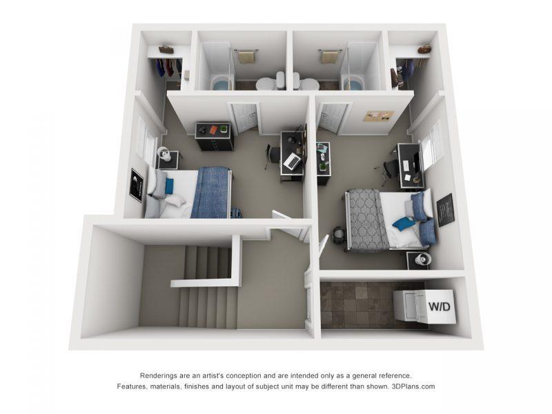Upper Floor Layout